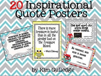 20 Inspirational and Motivational Posters
