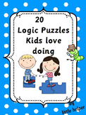 Logic Puzzles  kids love doing