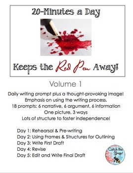 Daily Paragraph Writing: 20 Minutes a Day Keeps the Red Pe