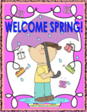 Spring Activities Early Finishers Packet  printables Cente