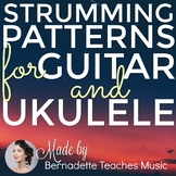 60+ Pages of Strumming Patterns (Posters & Handouts)