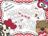20 Valentine Bookmarks