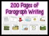 200+ Paragraphs for Centers, Homework, Morning Work {1st,
