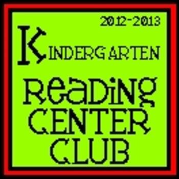 2012-2013 First Grade Reading Center Club PART 2