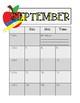 2016-2017 School Calendar