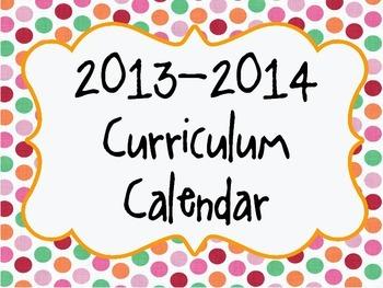 2013-2014 Curriculum Planner