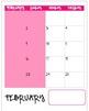 2013-2014 Teacher Binder Calendar