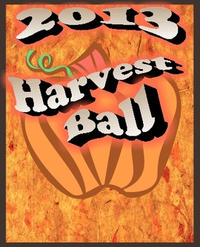 2013 Harvest Ball graphic