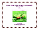 "Kindergarten K Next Generation Science Standards NGSS ""I C"