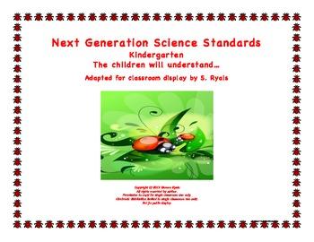 """Kindergarten K Next Generation Science Standards NGSS """"Und"""