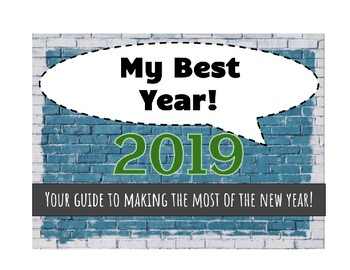 2017 My Best Year  - Character trait focus for the New Yea