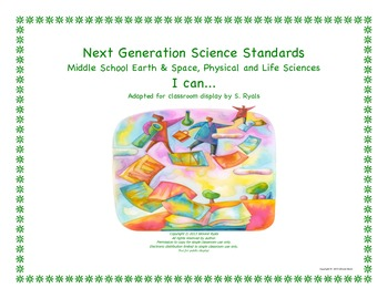 NGSS I Can Middle School MS Life Physical Earth Space Scie