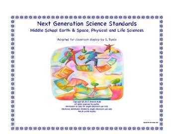NGSS Middle School MS Life Physical Earth Space Science St