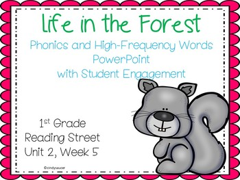 Reading Street , Life in the Forest , Interactive Powerpoint