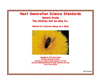 2nd Second Grade Able To Next Generation Science Standards
