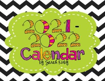 2017 and 2018 Editable Calendar (24 months) - PowerPoint Version