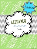 2014-15 The ULTIMATE Teacher's Binder! {Editable}