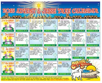 Advent Calendar & Jesse Tree