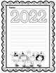 2016 New Year Themed Writing Paper