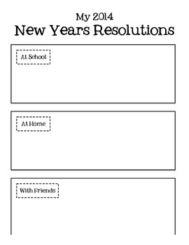 2014 New Years Resolutions