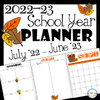 2016-17 School Year Calendar Pages {FREEBIE}