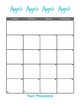 2015-2016 Academic Calendar (Two Page Layout)
