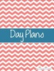 2016-2017 Day Planner (Chevron Theme)