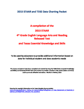 2015 STAAR and TEKS 4th Grade English Language Arts and Re