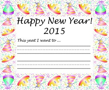 2015 Writing Paper