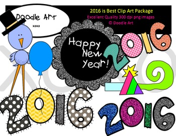 2016 is Best Clipart Pack