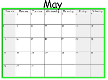 2016-17 Mimio Calendar *Monday-Thursday: 4 Day Weeks* 12 months