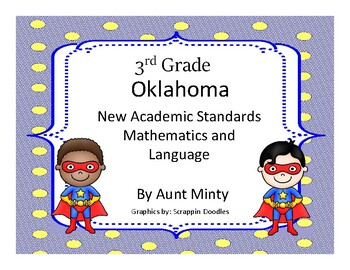 2016-2017 3rd Grade Oklahoma Academic Standards Math, Lang