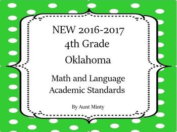 2016-2017 4th Grade Oklahoma Math and Language Academic St