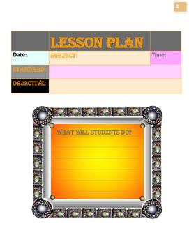 2016/ 2017 6th-12th GradeTeacher Planner: Organize and Pla