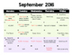2016 - 2017 5th Grade Writing Scope & Sequence w/Daily Act