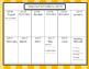 2016-2017 Academic Calendar- Orange Theme