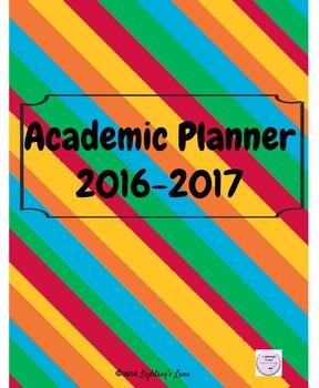 2016 - 2017 Academic Planner