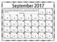 2016-2017 Back-to-School Homework Reading and Math Calendar