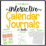 2016-2017 Calendar Journal Set