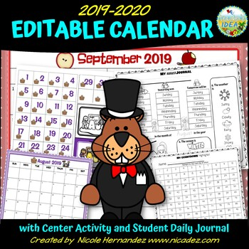 2016-2017 Calendar for Elementary Classrooms