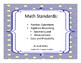 2016-2017 Oklahoma Third Grade Math Academic Standards and