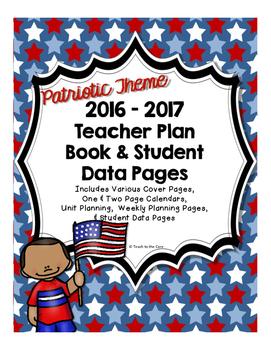 2016-2017 PATRIOTIC Teacher Plan Book
