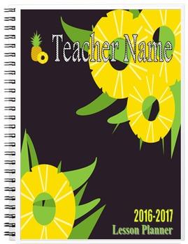 2016-2017 Pineapples Lesson Planner