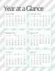 2016 - 2017 Teacher Calendar