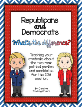 2016 Election - Republicans and Democrats - What's the dif