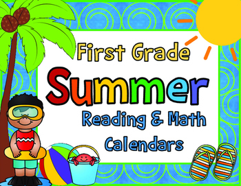 2016 First Grade Summer Learning Packet with June and July