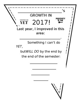 2017 Goal Setting - A Growth Mindset Perspective for All A