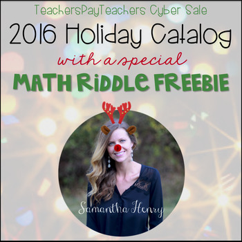 2016 Holiday Catalog and Christmas Freebie