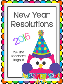 2016 New Year Goals and Resolutions