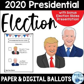 2016 Presidential Election Ballots - Clinton / Trump & bon